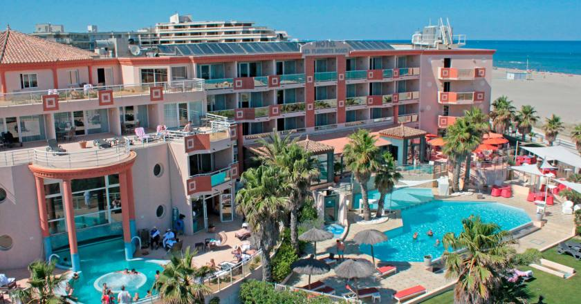 hotel flamants roses 1